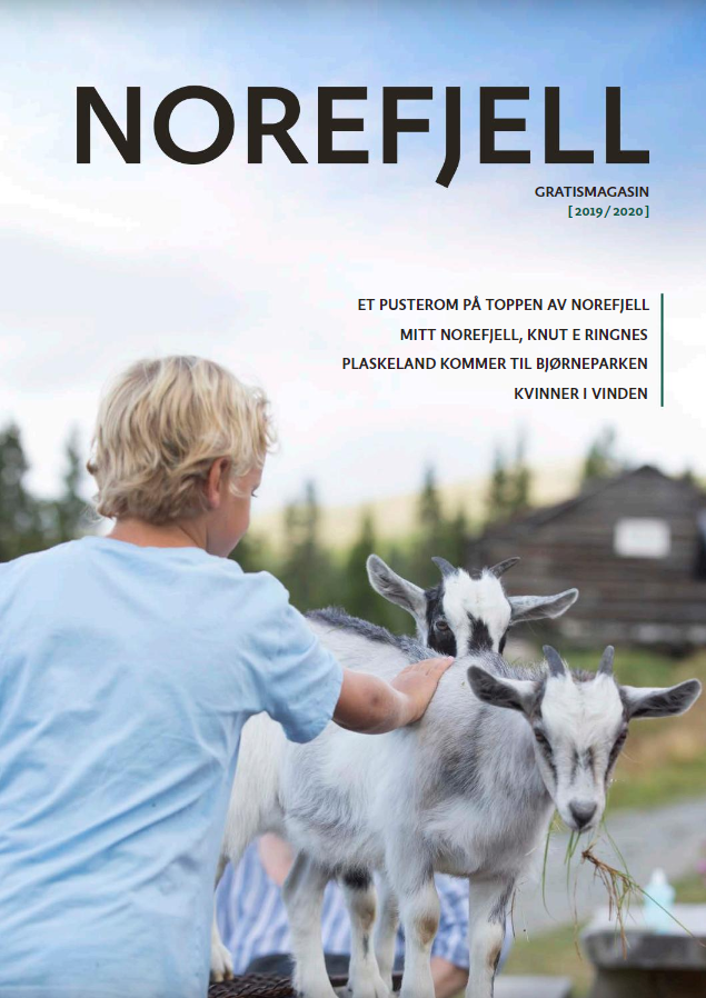 Norefjell magazine<br>(only in Norwegian)